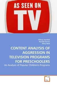 an analysis of childrens television programs Step 3 post-viewing (or repeated viewing) a what concepts/idea and/or people you listed in the previewing activity were validated by your viewing of the television show.